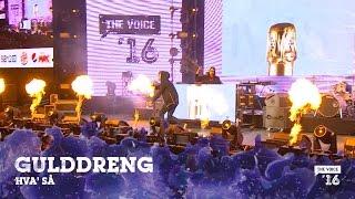 Gulddreng 'Hva' Så' live fra The Voice '16