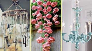 💙 Shabby Chic Style Chandelier Decor Ideas| Home Decor & Interior Design| Flamingo Mango| 💙