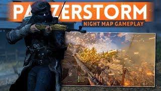 PANZERSTORM NIGHT MAP GAMEPLAY + 64-MAN RUSH! - Battlefield 5 (Battle of Hannut Grand Operation)