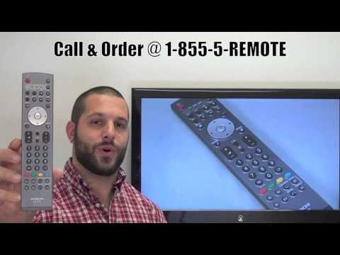 HITACHI CLE970A TV Remote Control