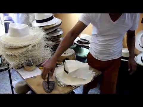 """How the original PANAMA HAT'S are made  """"VIDEO TOUR"""""""
