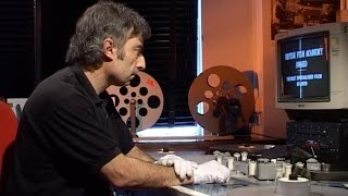 16mm & 35mm Film in the Cutting Room.