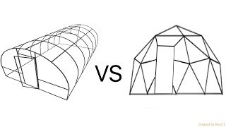 Hoophouse Vs Geodesic Dome Which Is Cheaper To Build? (2020)