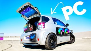 This CAR is a GAMING PC