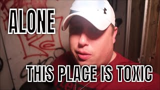 (30 Min ALONE Challenge) ABANDONED HAUNTED DANGEROUS HOSPITAL) 2 AM,, ROBS TURN, TO DANCE ALONE WITH