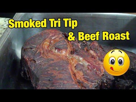 Smoked Cajun Tri Tip & Smoked Teriyaki Roast Beef – TRAEGER SMOKING