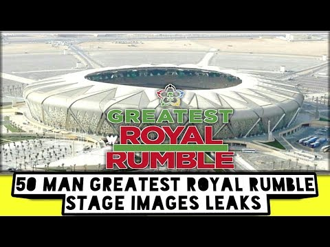 50 Man Greatest Royal Rumble Stage Images Leaks/World Wrestling Tamil