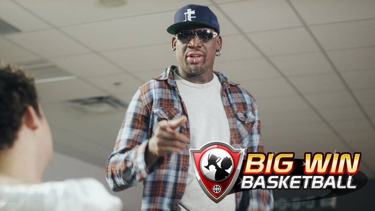 I Guess Dennis Rodman Is A Reason To Get A Basketball Game