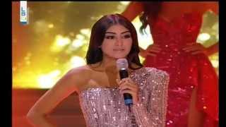 Sherine Nesr Miss Lebanon 2014 Top 9 Finalist