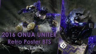 BIONICLE 2016 ONUA UNITER Retro poster BTS