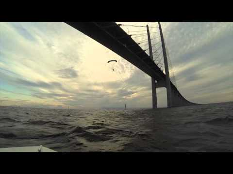 BASE jump Öresund bridge