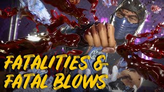Mortal Kombat 11 – Every Fatality and Fatal Blow So Far