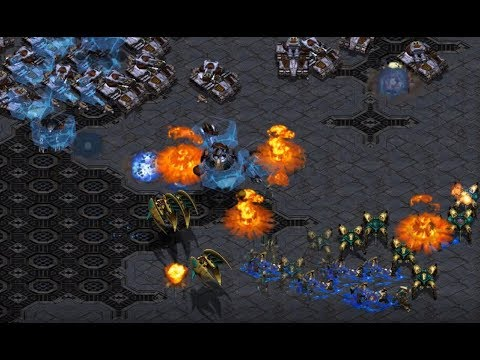 Fantasy (T) v pin (P) on Circuit Breakers - StarCraft  - Brood War REMASTERED