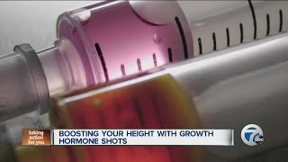 Boosting your height with growth hormone shots