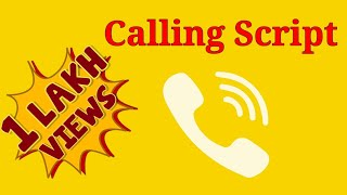 Calling script | Calling consultants | US Sfaffing | US Recruiter Training
