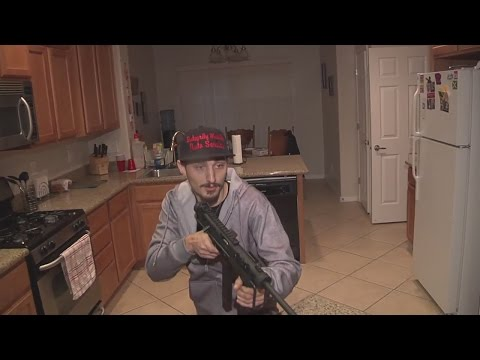 Man confronts armed intruder in home with WWII Grease Gun