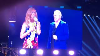 Celine Dion- Duet with John Farnham- You're The Voice- Melbourne Rod Laver Arena- 8.8.18- Live