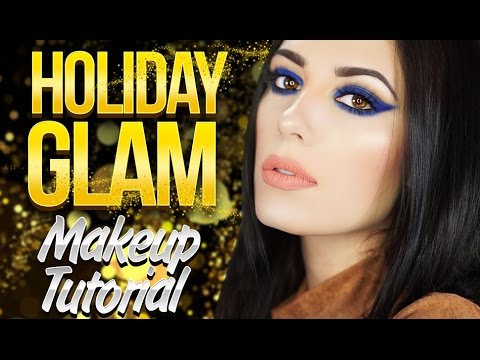Holiday Glam Makeup Tutorial Victoria Lyn Beauty