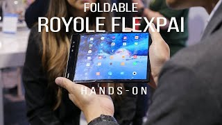 The foldable Royole FlexPai is all show and no practicality [hands-on]