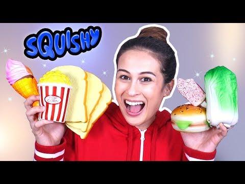 FOOD SQUISHY MEGA UNBOXING!    Fan Friday