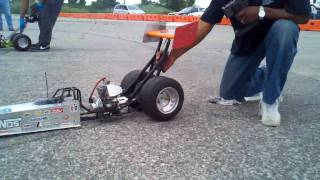 Download Youtube: 1/4 scale dragster race www.Nitrostreets.com
