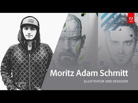 , title : 'Live Illustration mit Moritz Adam Schmitt - Adobe Live 3/3