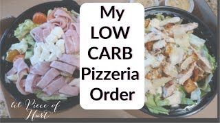 Low Carb Pizzeria Options!