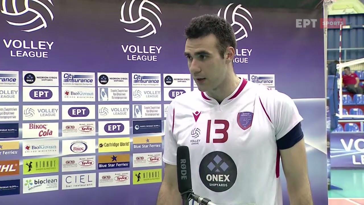 Volley League | Δ.Λινάρδος: Δουλεύουμε σκληρά κάθε μέρα αλλά πάντα κάτι φταίει | 02/04/21 | ΕΡΤ