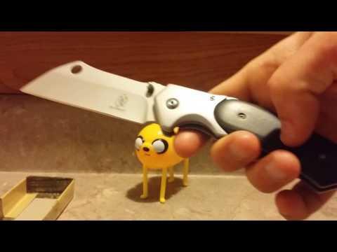 Buckshot Knives Folding Razor Cleaver: A $16 eBay Win