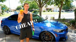 Cheapest way to Wash your Car (Best Results)