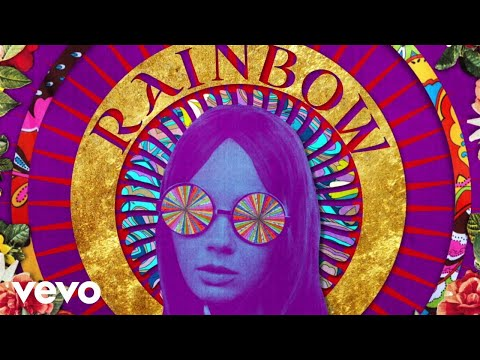 She's a Rainbow Lyric Video