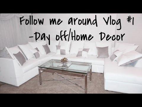 VLOG: Home decor| Ross, Home goods + more!