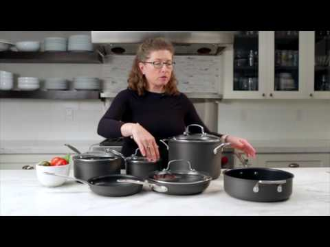 Cuisinart® Chef's Classic™ Nonstick Hard Anodized 10 Piece Set Demo Video (66-10)