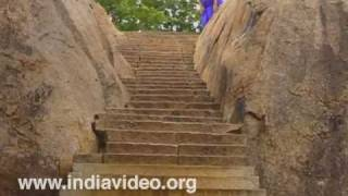 The Mahishamardini Cave at Mahabalipuram