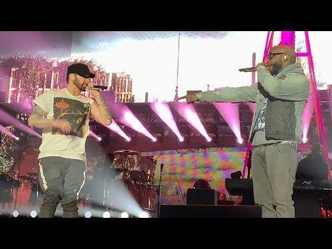 Eminem x Royce 5'9 - Caterpillar & Fast Lane (Live at Wellington, New Zealand, 03/02/2019, Rapture)