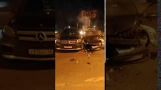 «Гражданский журналист прислал видео ДТП двух иномарок на перекрестке в Пензе»
