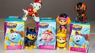 Мультик Щенячий патруль Открывают Сюрпризы игрушки Свит Бокс Смешарики Мультики для детей