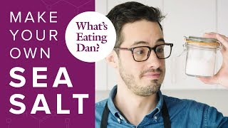 The Science of Salt: How it Impacts Your Cooking and How to Make Your Own: Salt   What's Eating Dan?