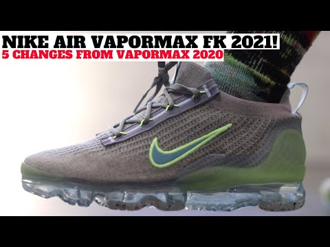 Nike Air VaporMax 2021 FlyKnit Review! 5 Changes from VaporMax 2020!