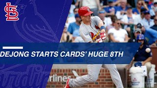 Cardinals Put On 11 Consecutive Runners In Nine Run 8th Inning Vs. Cubs