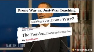 Religious Leaders Call on Obama to Stop Drone Strikes thumbnail