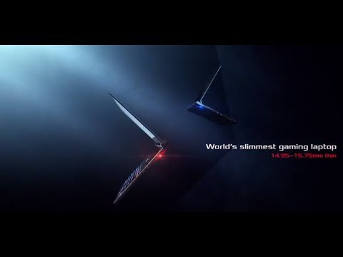 World's Slimmest Gaming Laptop - Zephyrus S | ROG
