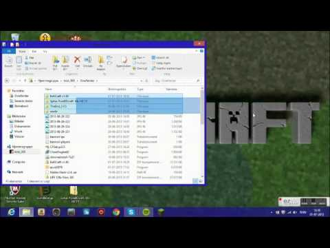 Texture pack for minecarft (Windows 8) Danish