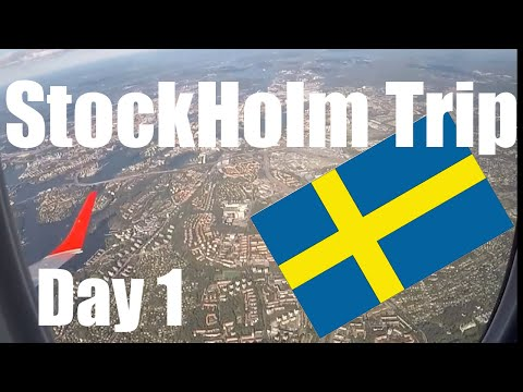 StockHolm Trip 2019 - 1st Day - 28.6.2019