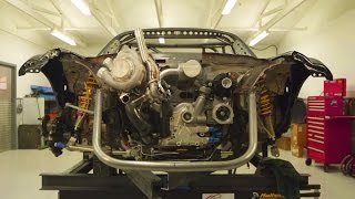 Twin Turbo 4-Rotor Engine in