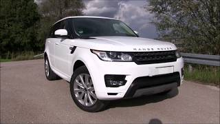 2017 Range Rover Sport 3.0 TDV6 (258 HP) TEST DRIVE