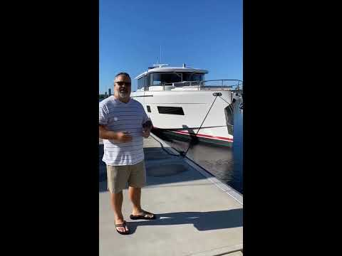 Sirena Yachts 58 Coupe Journey from FL to IL
