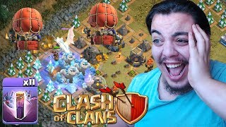 Download Video DEV EJDERHAYA BUZ GOLEMİ ATTIM (Güncelleme) Clash of Clans MP3 3GP MP4