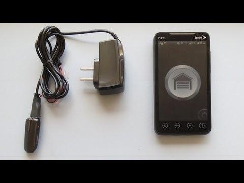 An Even Simpler Smartphone Garage Door Opener Hackaday