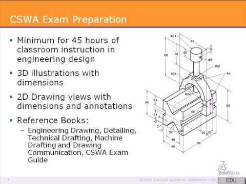 SolidWorks CSWA Tutorial 1: Preparing for the Exam - YouTube